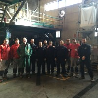 LOS BOMBEROS DE IGUALADA VISITAN ABC LEATHER, S.L.